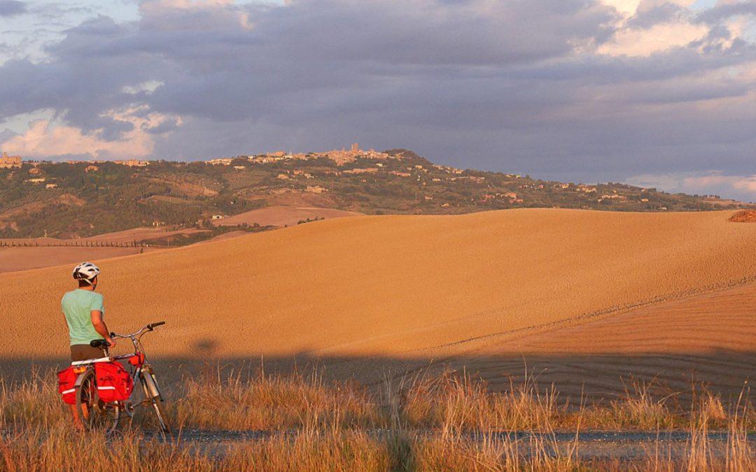 Dal mare alle colline pisane in bike
