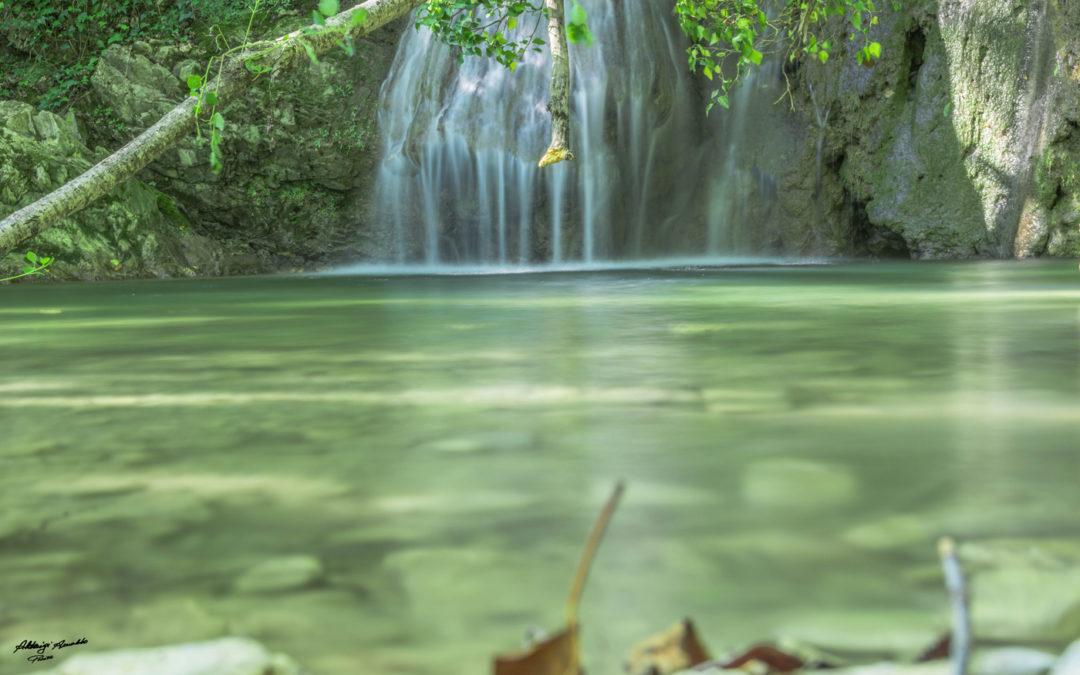 Le cascate del Ghiaccione a Chianni